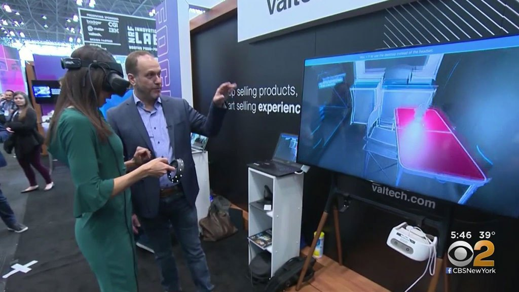 Shopping, Technology Merge At NYC Expo – CBS New York