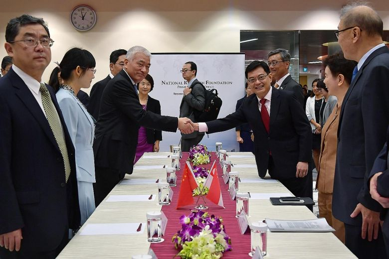 Singapore, China ink deal on science, technology, innovation