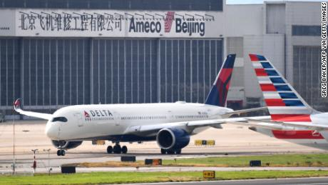 Major US airlines expand flight cancellations to China and Hong Kong