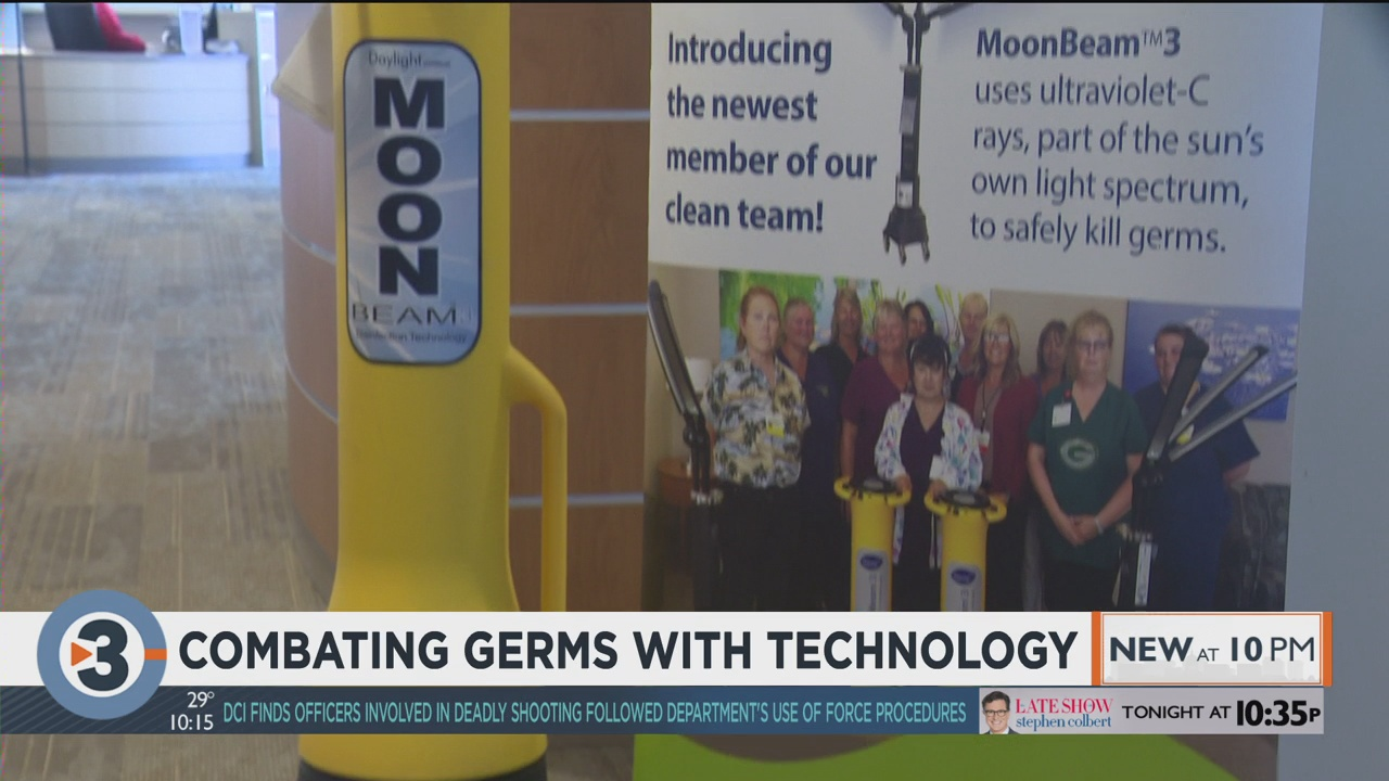 Combating germs with technology