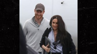 Meghan Markle and Prince Harry All Smiles After California Trip