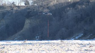New invention designed to help break up ice jams in Fremont
