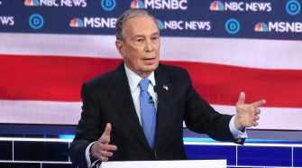 A Spotty First Debate For Mike Bloomberg : NPR