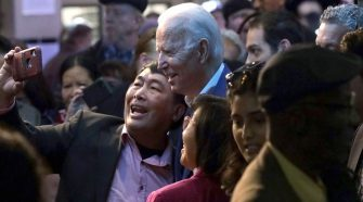 Biden to grab second in Nevada, above threshold to win delegates, NBC News projects