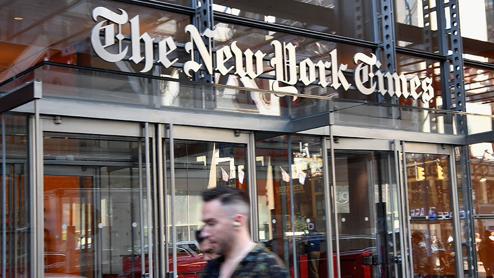 Trump campaign sues New York Times for libel over 2019 op-ed