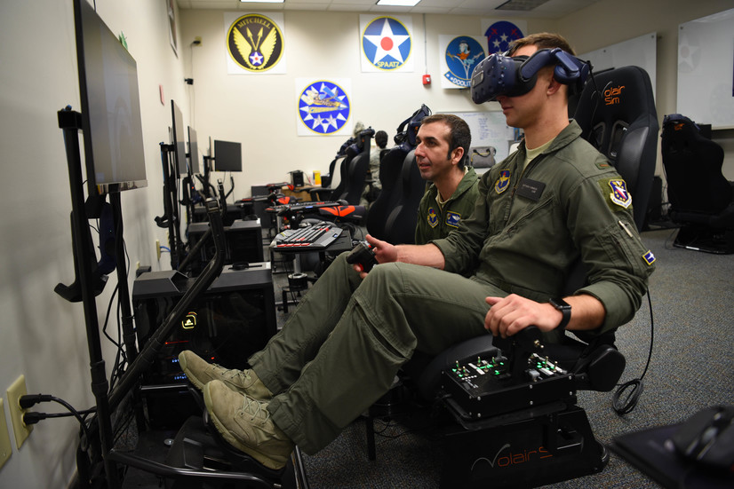 14th FTW innovation flight augments pilot training through VR technology > Air Education and Training Command > News