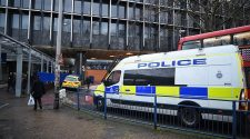 Armed police were called to Euston today amid reports of a stabbing during a mass brawl