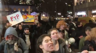 BREAKING: Far-left activists, antifa swarm NYC—multiple arrests made