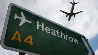 Heathrow plane