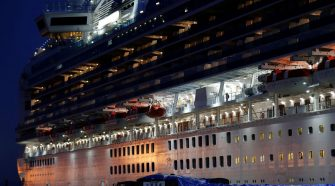Cruise ship coronavirus infections double, exceeding the total for any country but China
