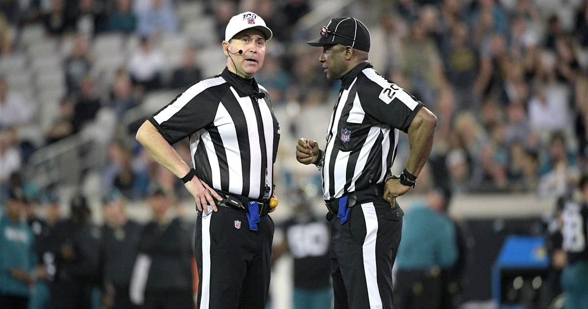 Even before kickoff, referees to make history in the Super Bowl