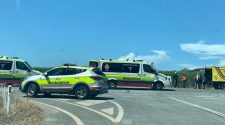 NEWSPORT DAILY-Car and motorbike collide near Mowbray