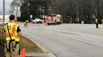 Part of Pelham Road shut down because of gas leak