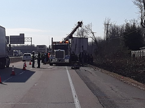 Police are investigating a deadly accident on I-70 in Vigo County