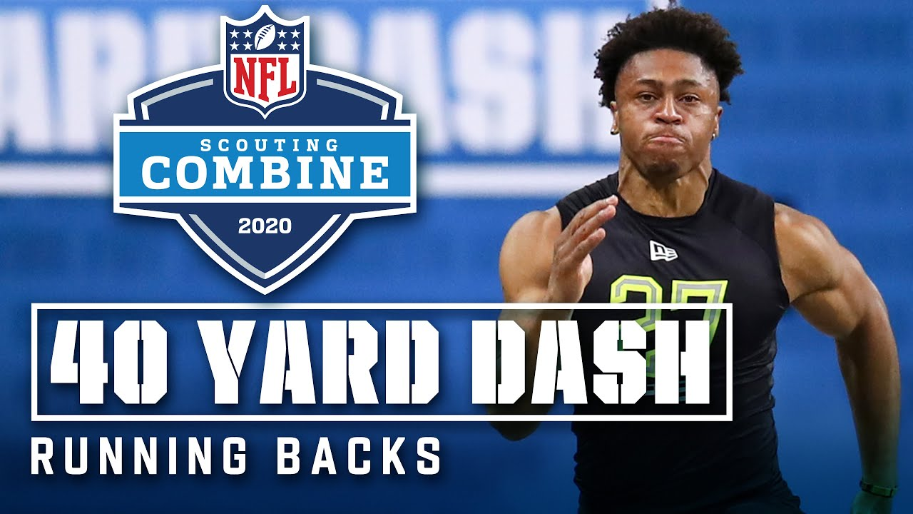 Running Backs Run the 40-Yard Dash at the 2020 NFL Scouting Combine - NFL