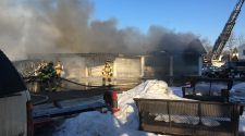 Structure fire in Eau Claire; no injuries reported