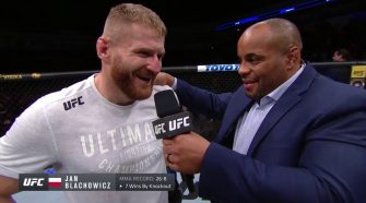 UFC Rio Rancho: Jan Blachowicz Octagon Interview - UFC - Ultimate Fighting Championship