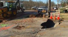 Water main break in Galloway Village impacts businesses