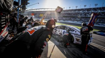 """Corey LaJoie and David Lee on Breaking New Ground with Hit Show """"NASCAR All IN"""" 