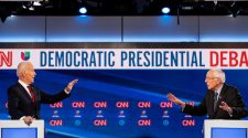 Clashes and Comity, as Biden and Sanders Meet in Head-to-Head Debate