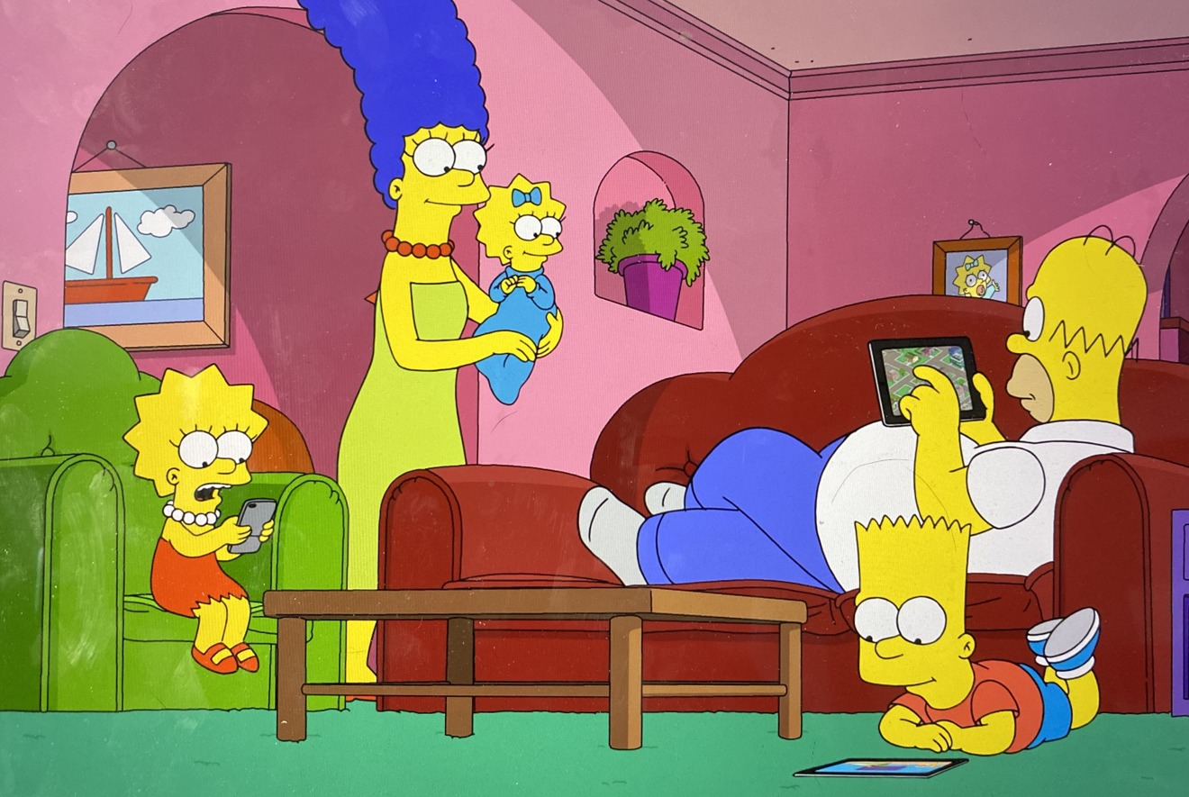 The Simpsons go to technology rehab after cheating Screen Time in latest episode