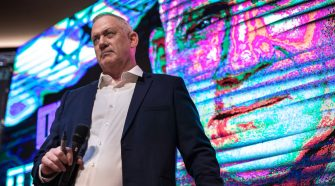 Benny Gantz, Breaking Vows, Says He Would Serve Under Netanyahu