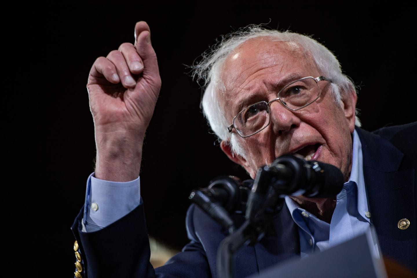 Bernie Sanders is under pressure to win Michigan and give his campaign fresh momentum.