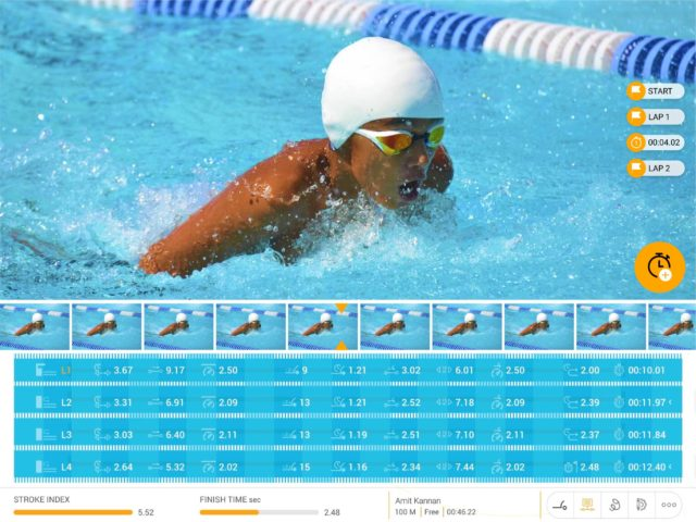 FINIS LaneVision: The World's First AI & Computer Vision Swim Technology