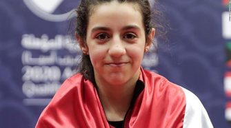 Hend Zaza: 11-year-old Syrian table tennis player qualifies for Olympics