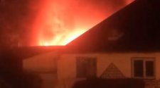 Updated: Dramatic video and pictures show fire breaking out again at Gloucester charity Emmaus