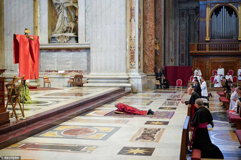 Francistested negative for coronavirus, it was revealed on March 3, and is thought instead to have been suffering from a cold. The Pope also visits the Vatican Library to record messages for the world's 1.3 billion Catholics
