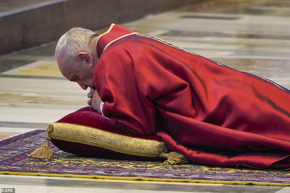 Francis has been largely secluded since coming down with a cold at the end of February. Fears were first raised for the pope's health on Ash Wednesday, when he fell ill with a cough, fever, chills and sore throat