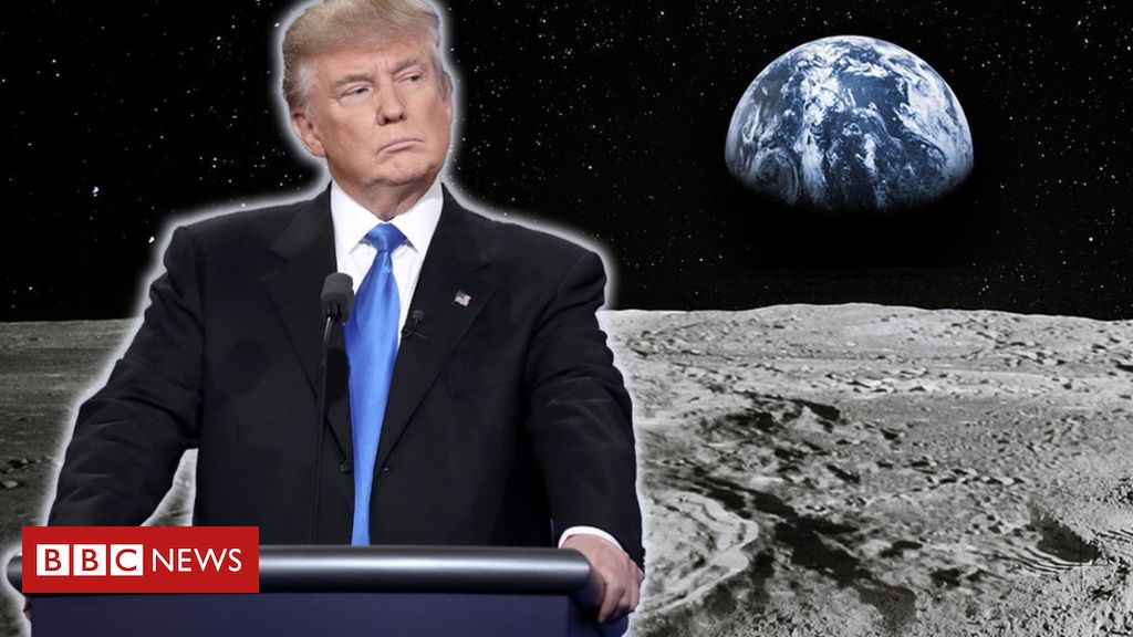 Why does President Trump want to mine on the Moon?
