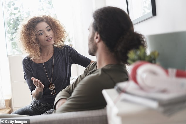 Tracey warns it's important to remember this isn't normal life, if you're in the early stages of a relationship that has been fast forwarded (file image)