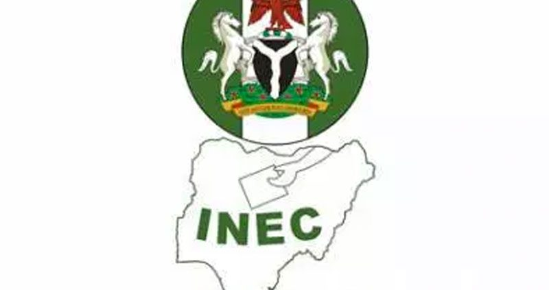 BREAKING: Fire guts INEC Headquarters