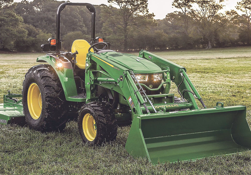 New JD 4M packed with useful technology out of the box