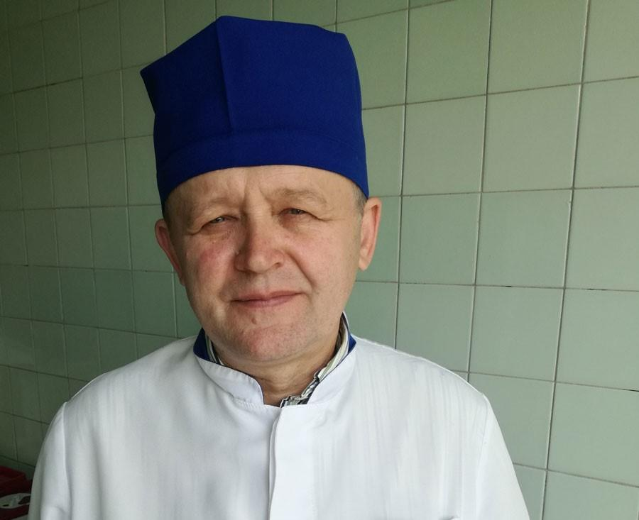 Aleksandr Samoilenko, trauma surgeon, Assistant Professor of Lugansk State Medical University, Candidate of Medical Science