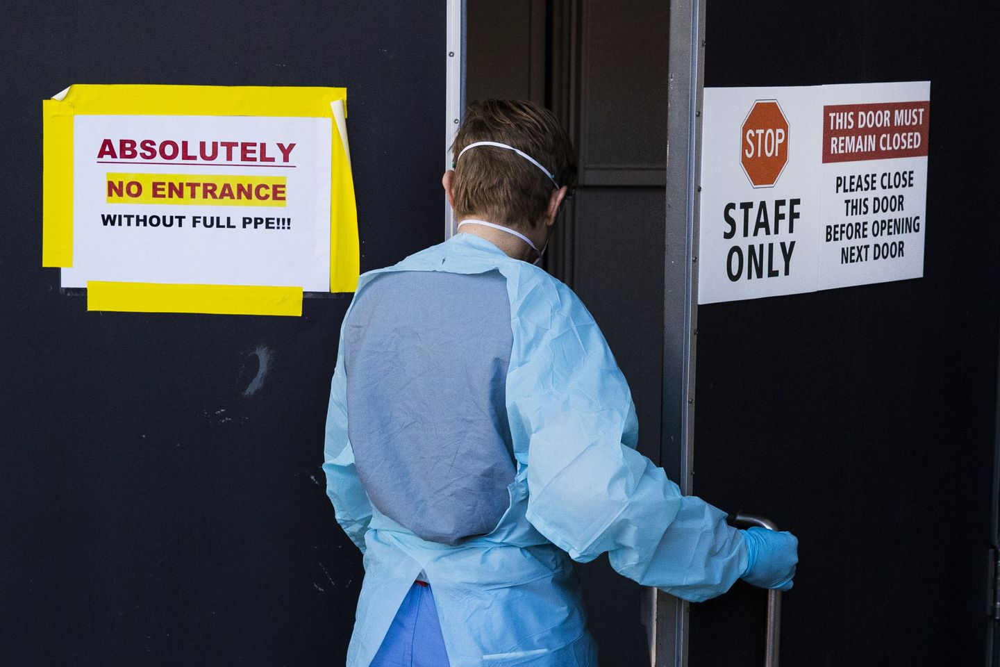 People who need care are not going to hospitals because of coronavirus, doctors say