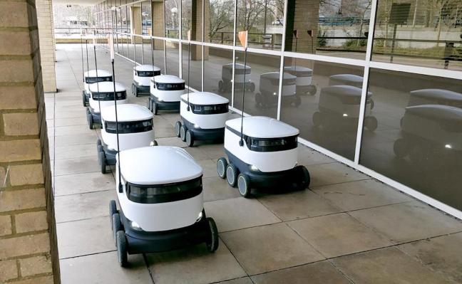 Starship Technologies is sending its autonomous robots to more cities as demand for contactless delivery rises – TechCrunch