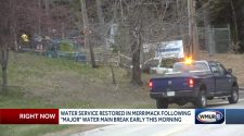 Water service restored in Merrimack after water main break