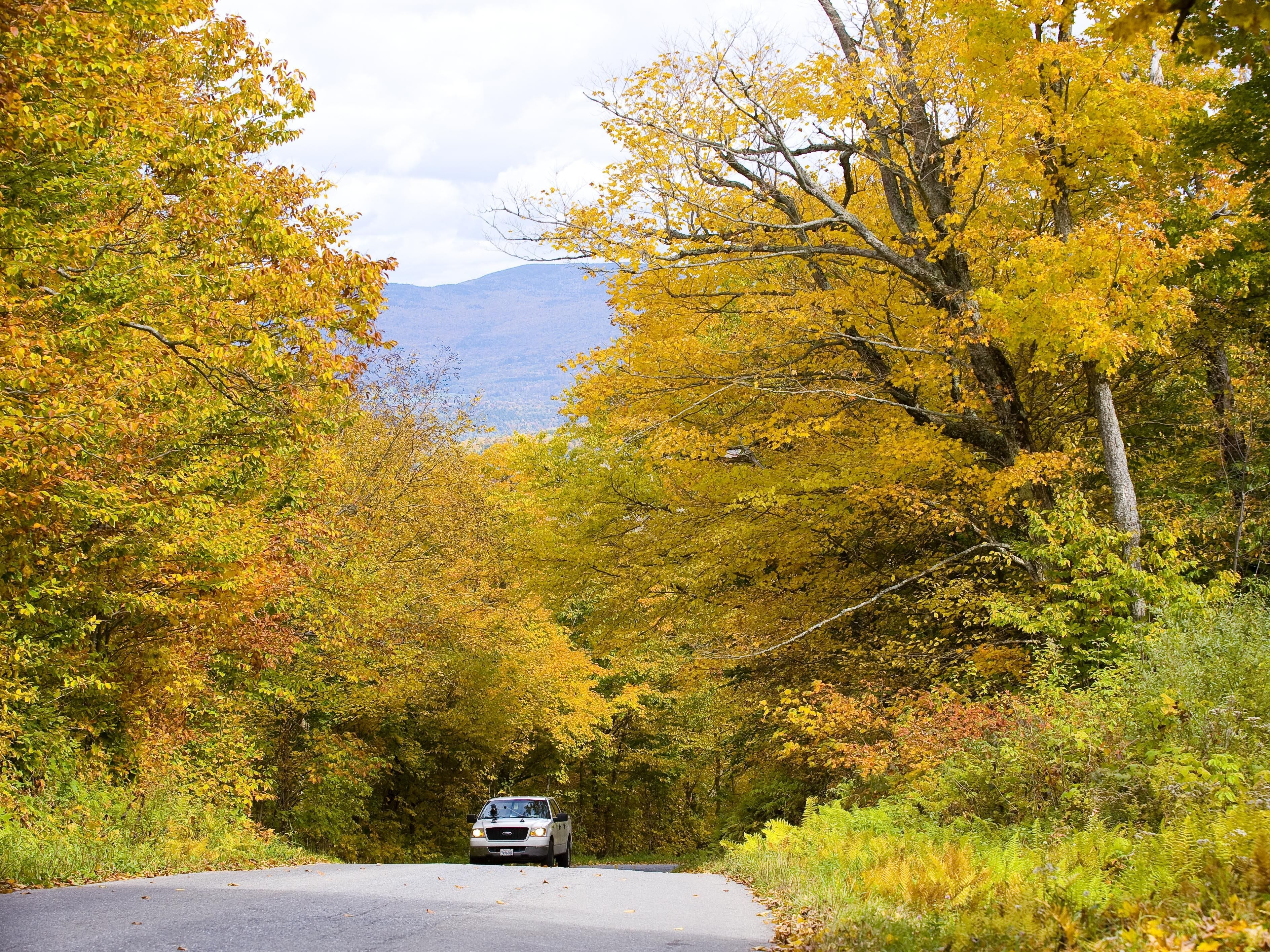 Drive one of Vermont's scenic byways.