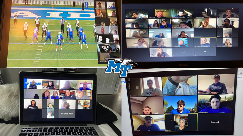 Technology keeping Blue Raiders connected