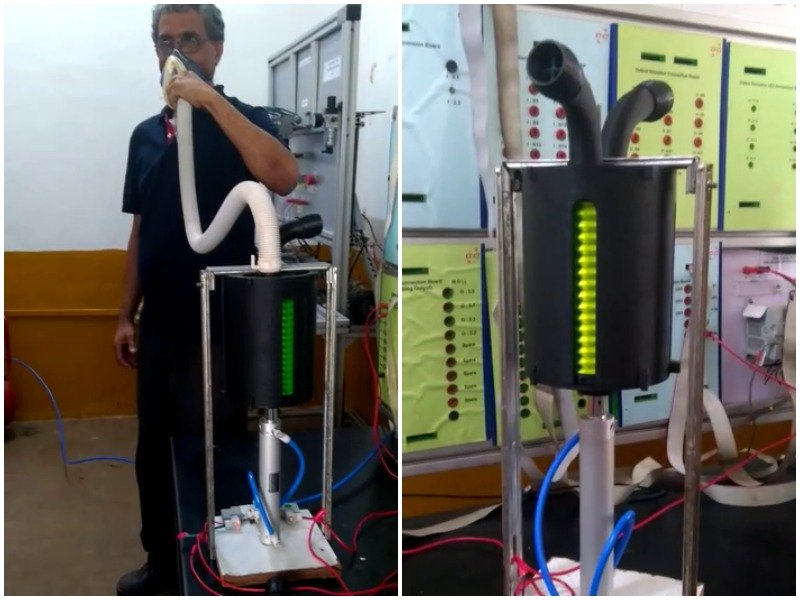 RWF develops ventilator with in-house technology