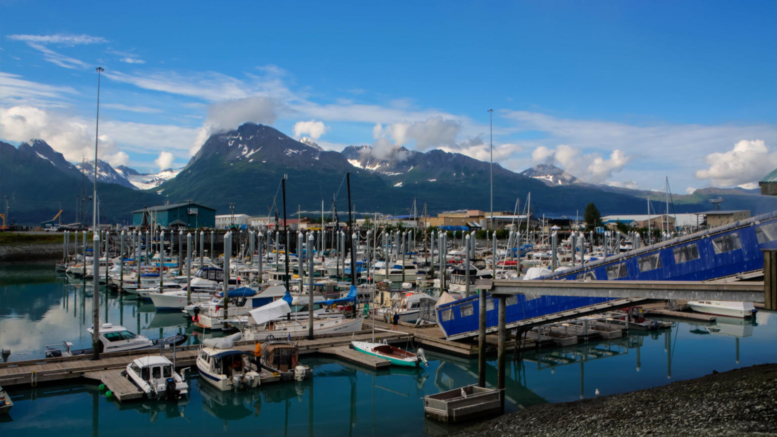 A seafood worker in Valdez has COVID-19, but state health officials don't know how he got it