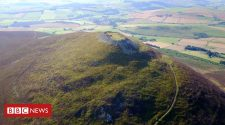 Ancient Tap O' Noth hillfort in Aberdeenshire one of 'largest ever'
