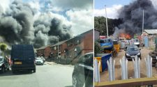 BREAKING: Wigan fire - live updates as large clouds of black smoke spotted amid reports of huge blaze