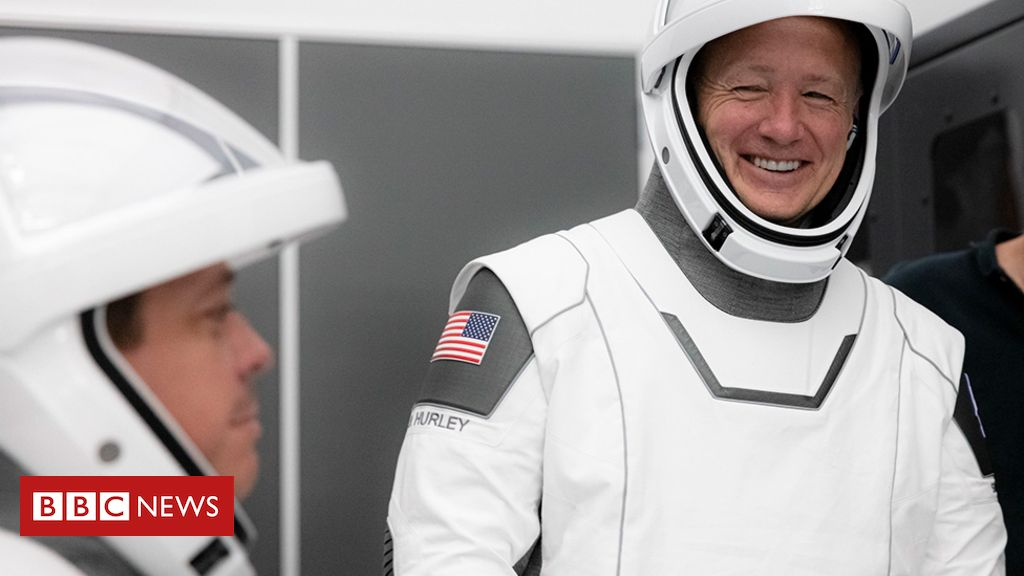 Nasa SpaceX crew mission cleared to launch