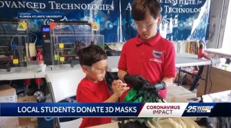 STEM students in Boca use 3D technology at home to aid hospitals