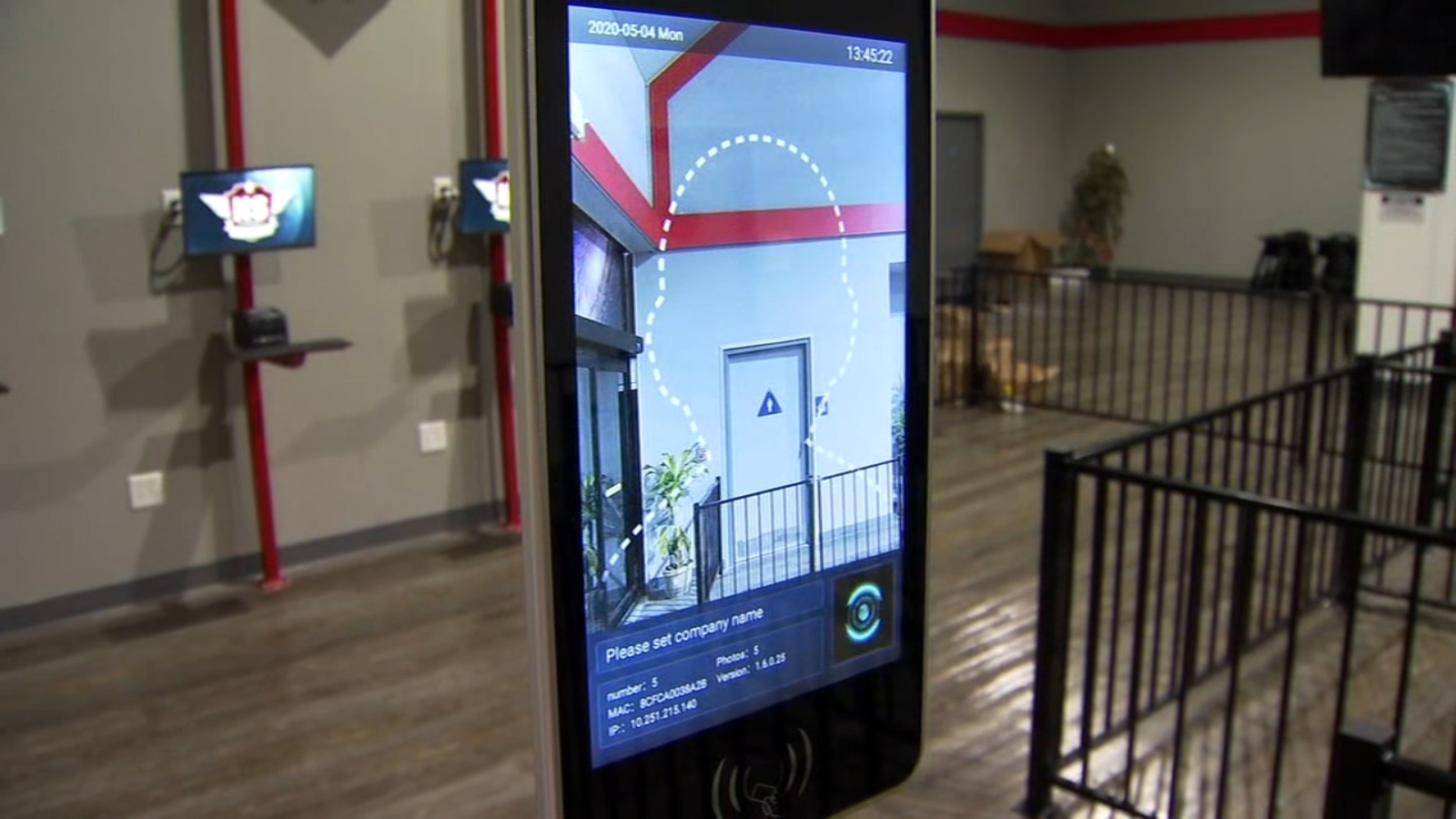 Local businesses using new technology to screen temperatures