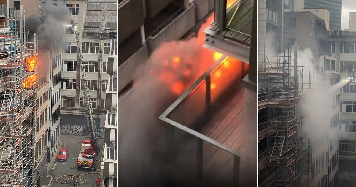 BREAKING: Fire breaks out at Northern Quarter tower block - LIVE updates